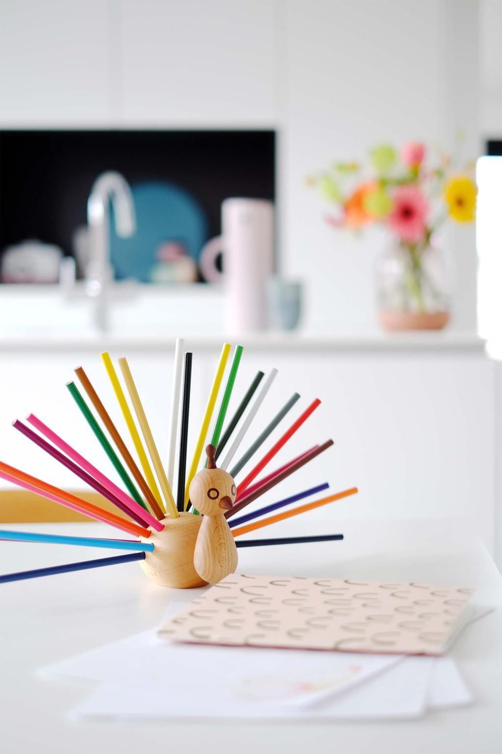 Designvogel voor potloden van Elements Optimal