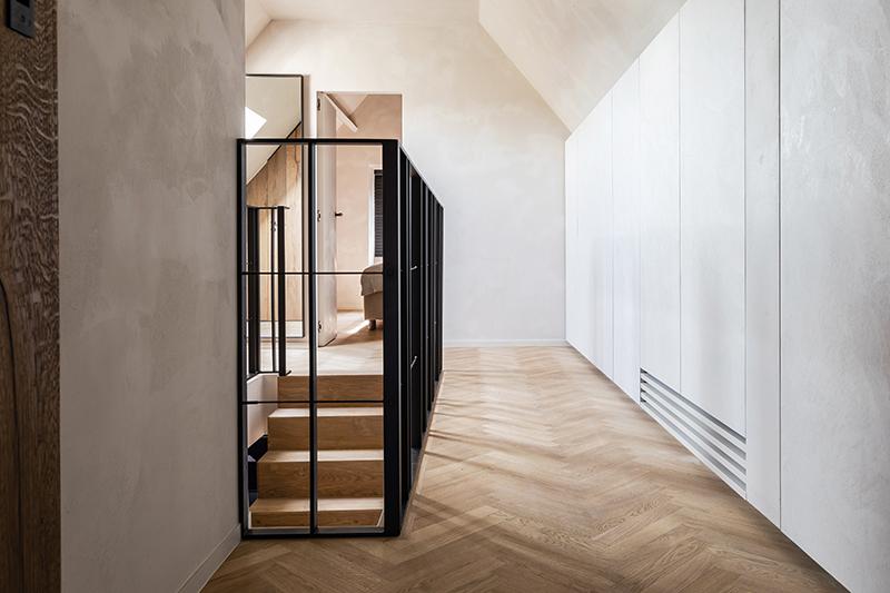 vloer landelijk hout interieurke overloop