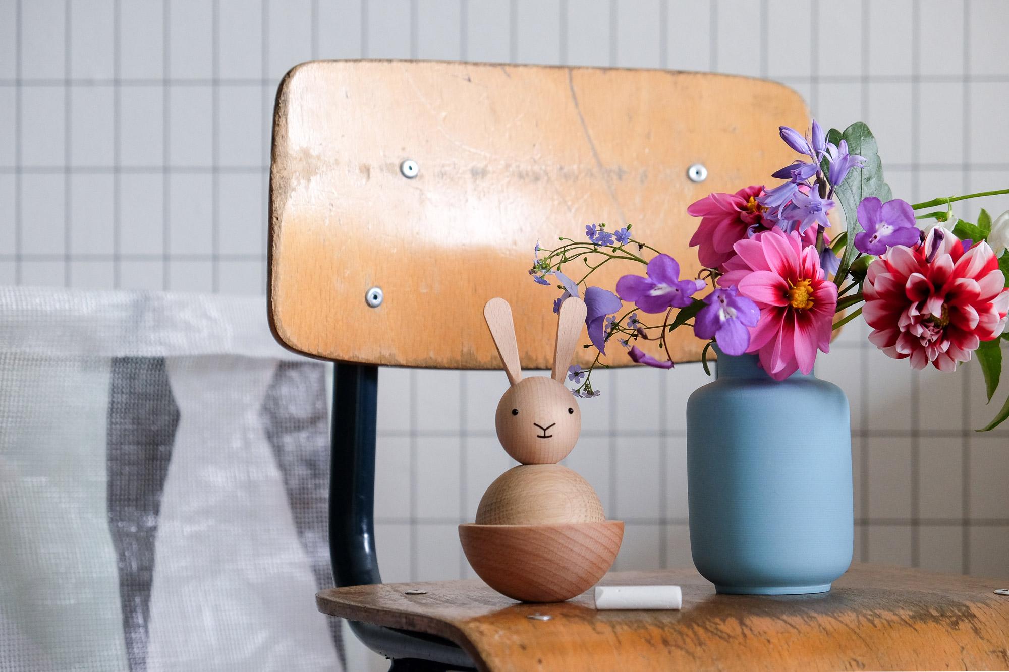 Houten konijn OYOY
