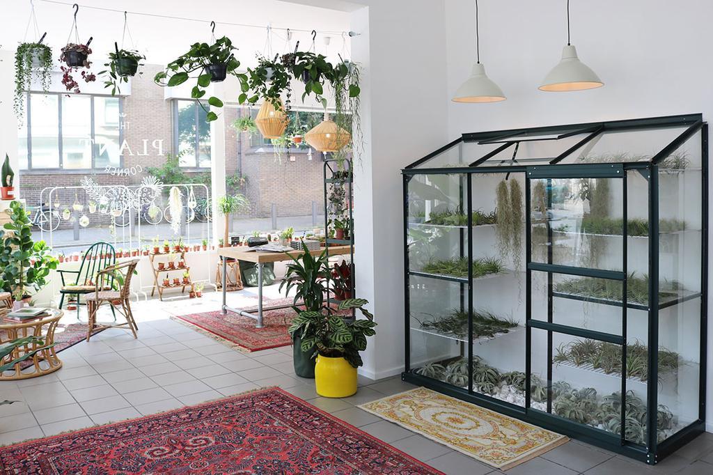 Interieur van The Plant Corner in Antwerpen