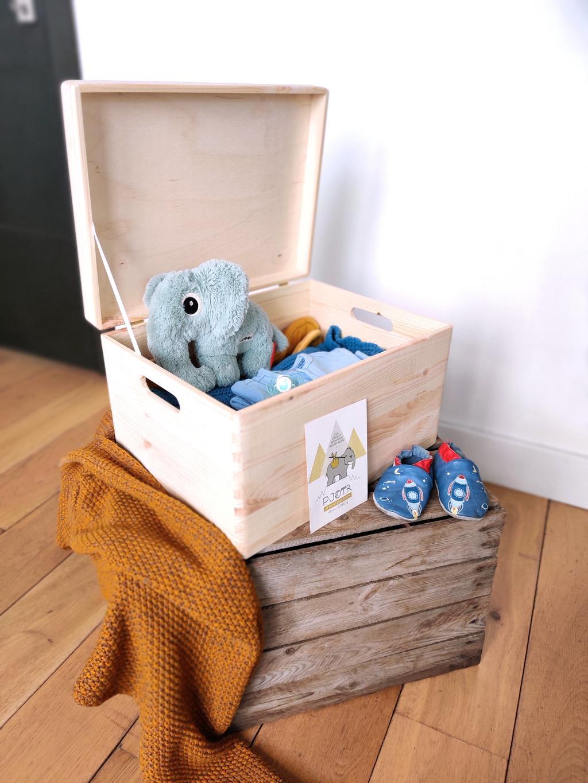 De herinneringsdozen van The Fox House zijn ideaal om te vullen met persoonlijke spullen.