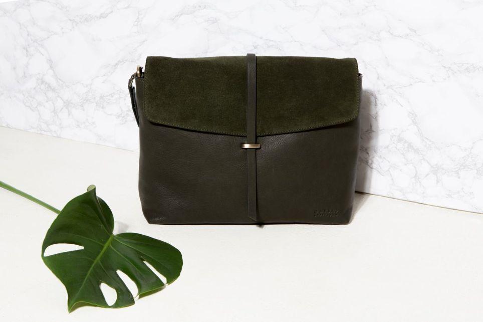 duurzaam design o my bag groene eco tas