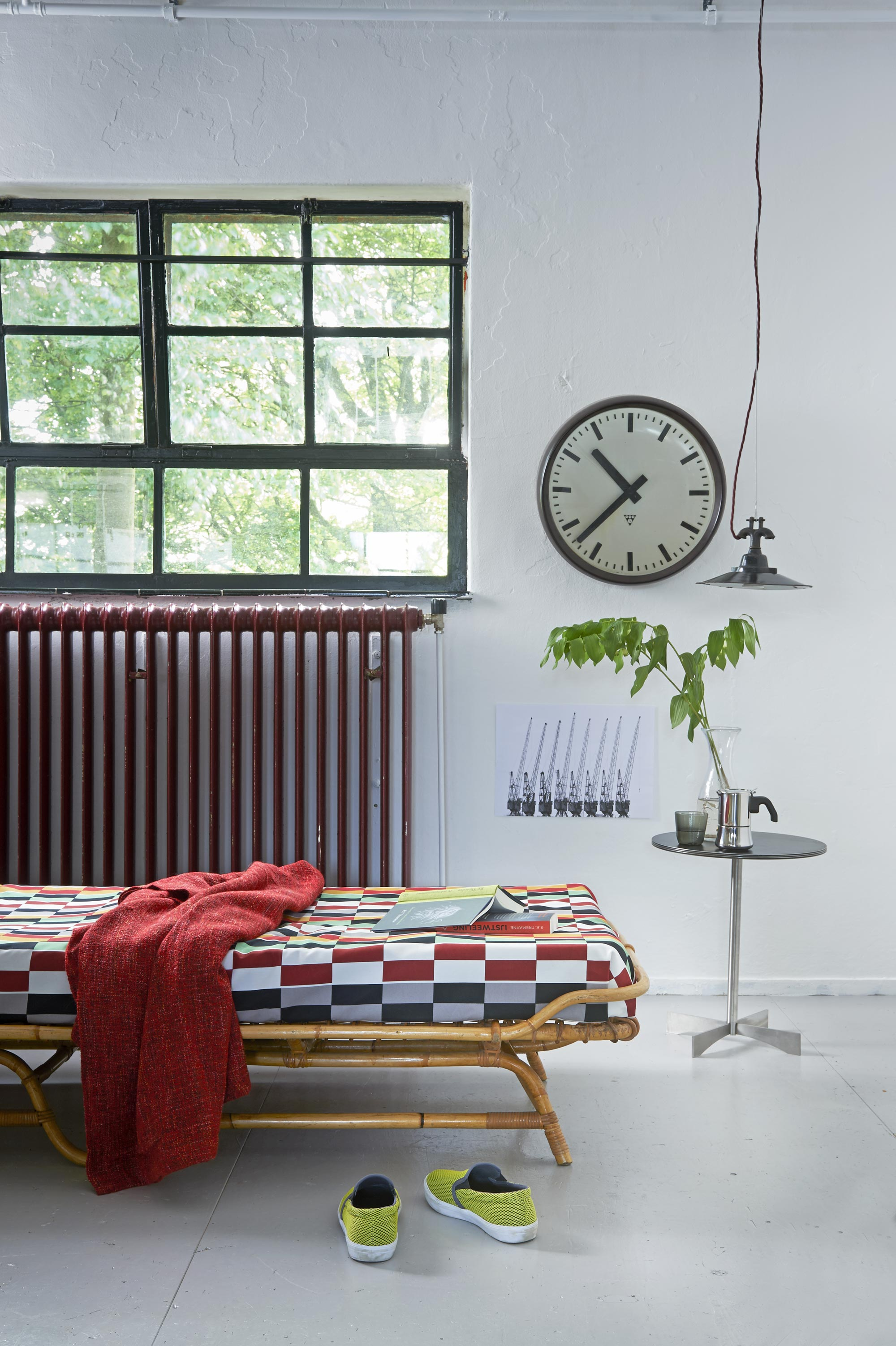 Vintage daybed