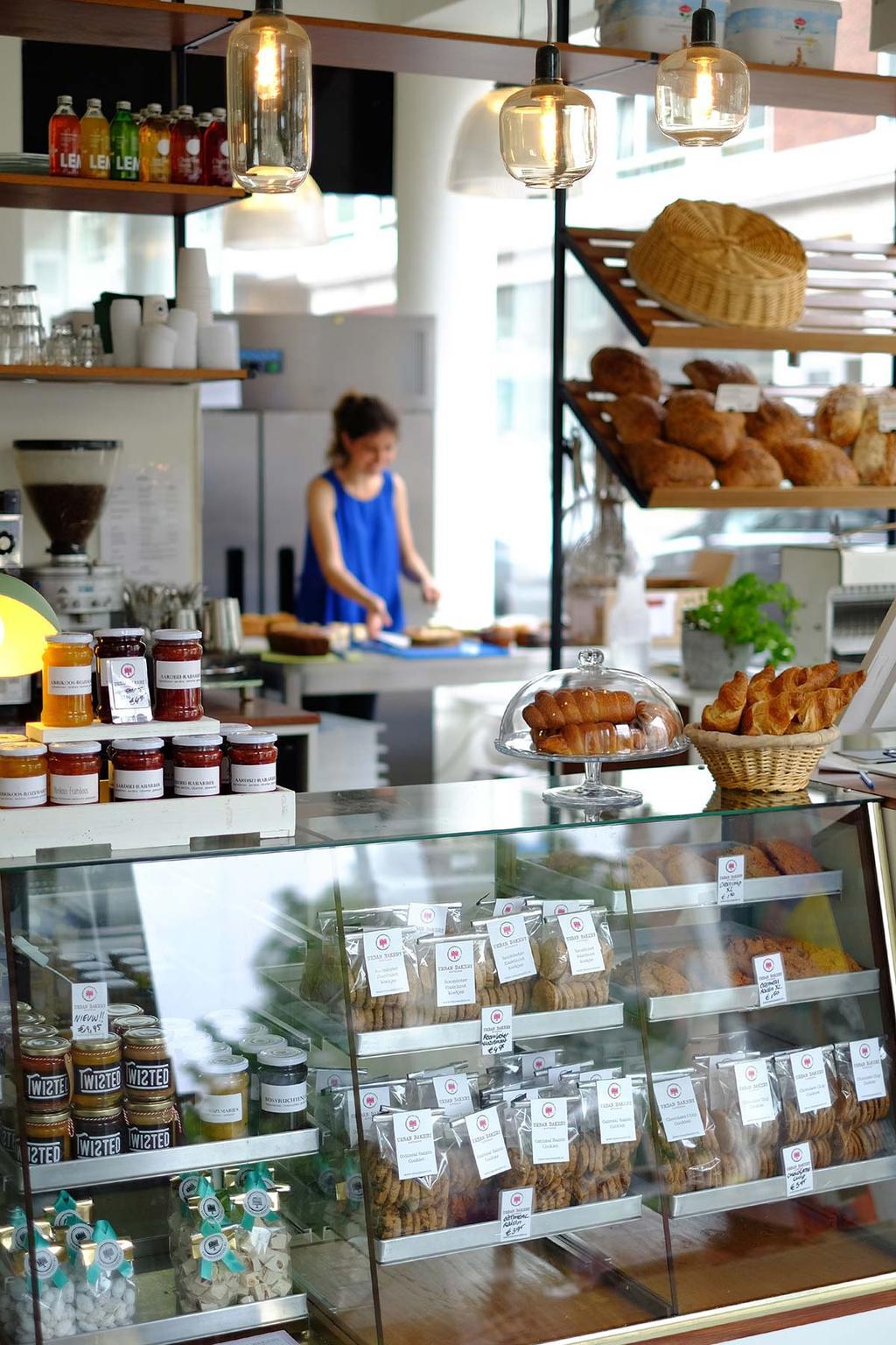 Vitrine van Urban Bakery Rotterdam