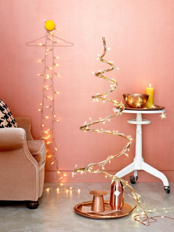 koperen kerstboom