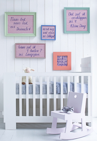 indelig babykamer