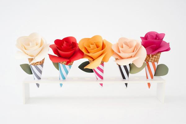 bloemen papier