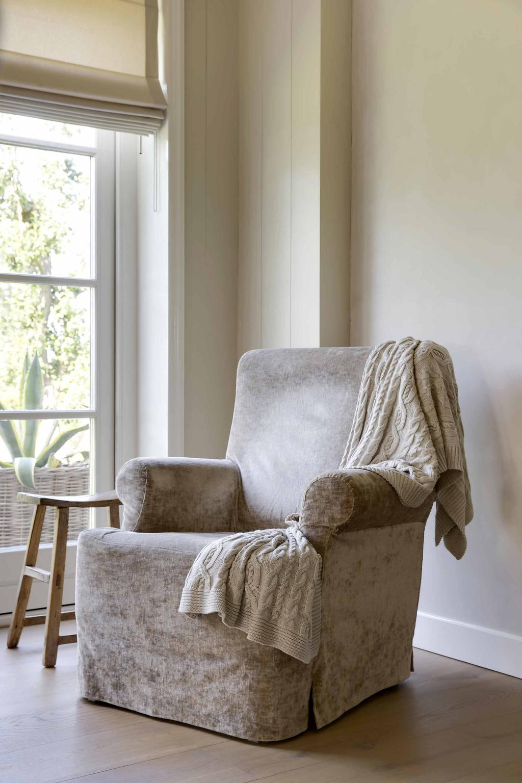 fauteuil krukje