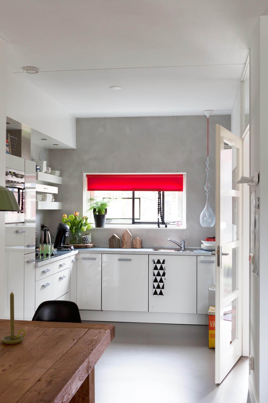 grijs witte keuken