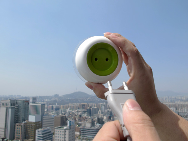 stopcontact op zonne-energie