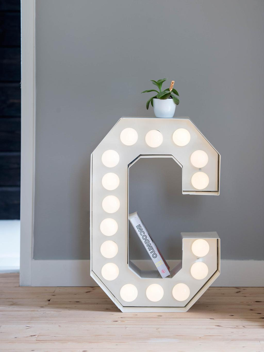 Lichtgevende letter