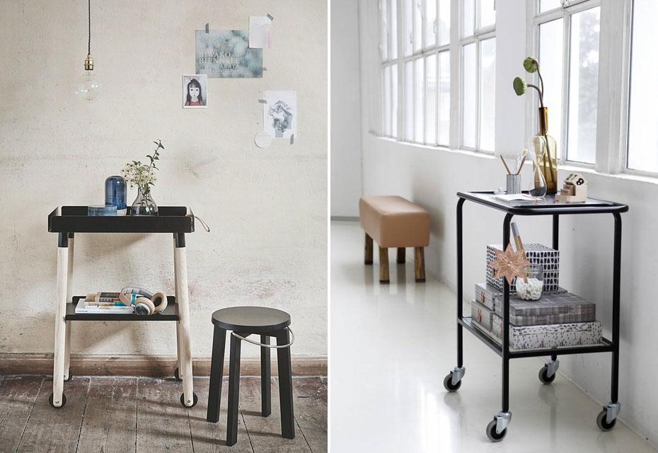 Styling: een trolley in je interieur