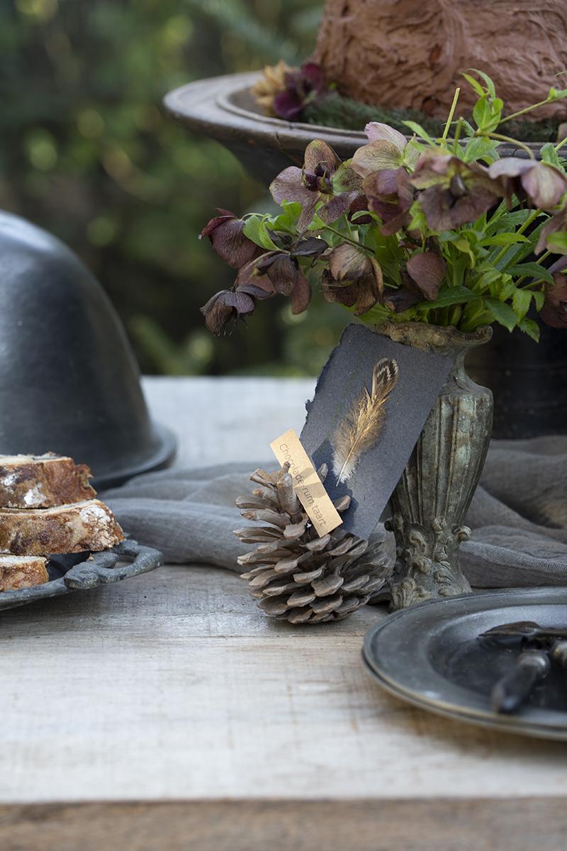 kerst diy floorabella style rustique gerechtenkaartje