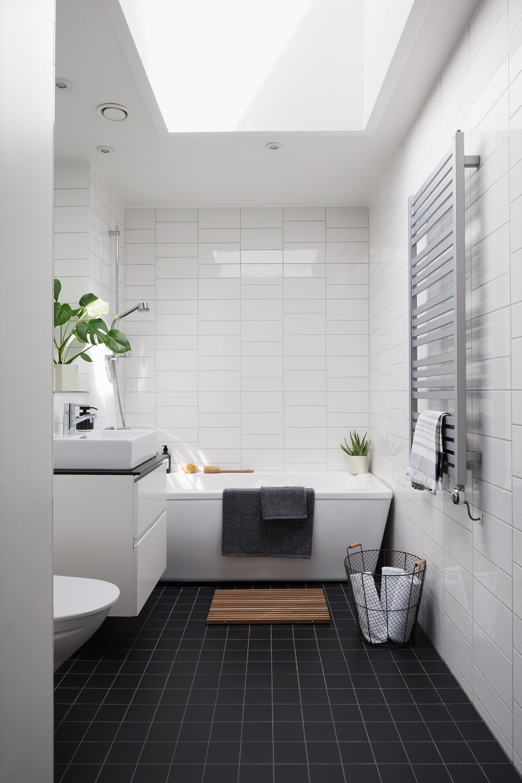 Badkamer met daglicht en dakraam