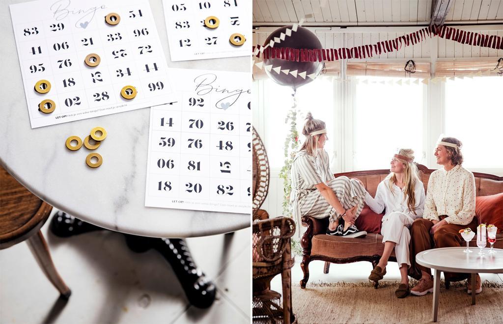 vtwonen bingokaart - wie ben ik - spelletjes