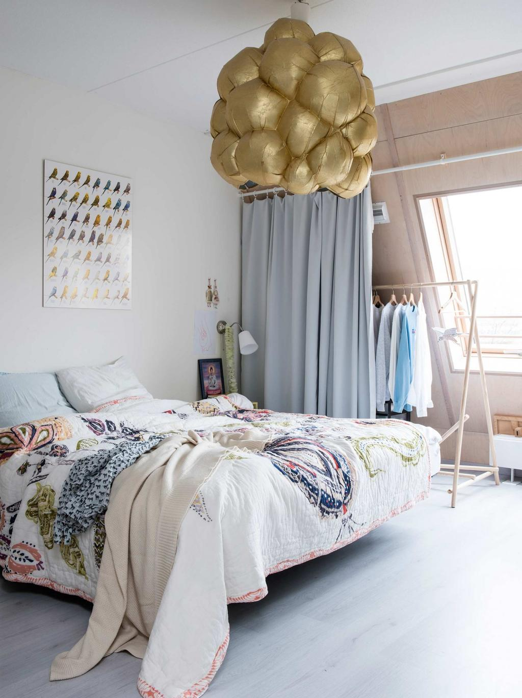 chambre a coucher tons clairs