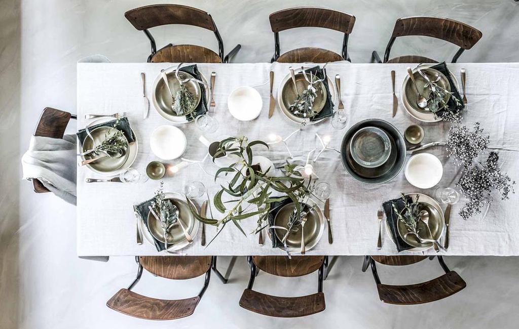 Basic tafelsetting | kerst