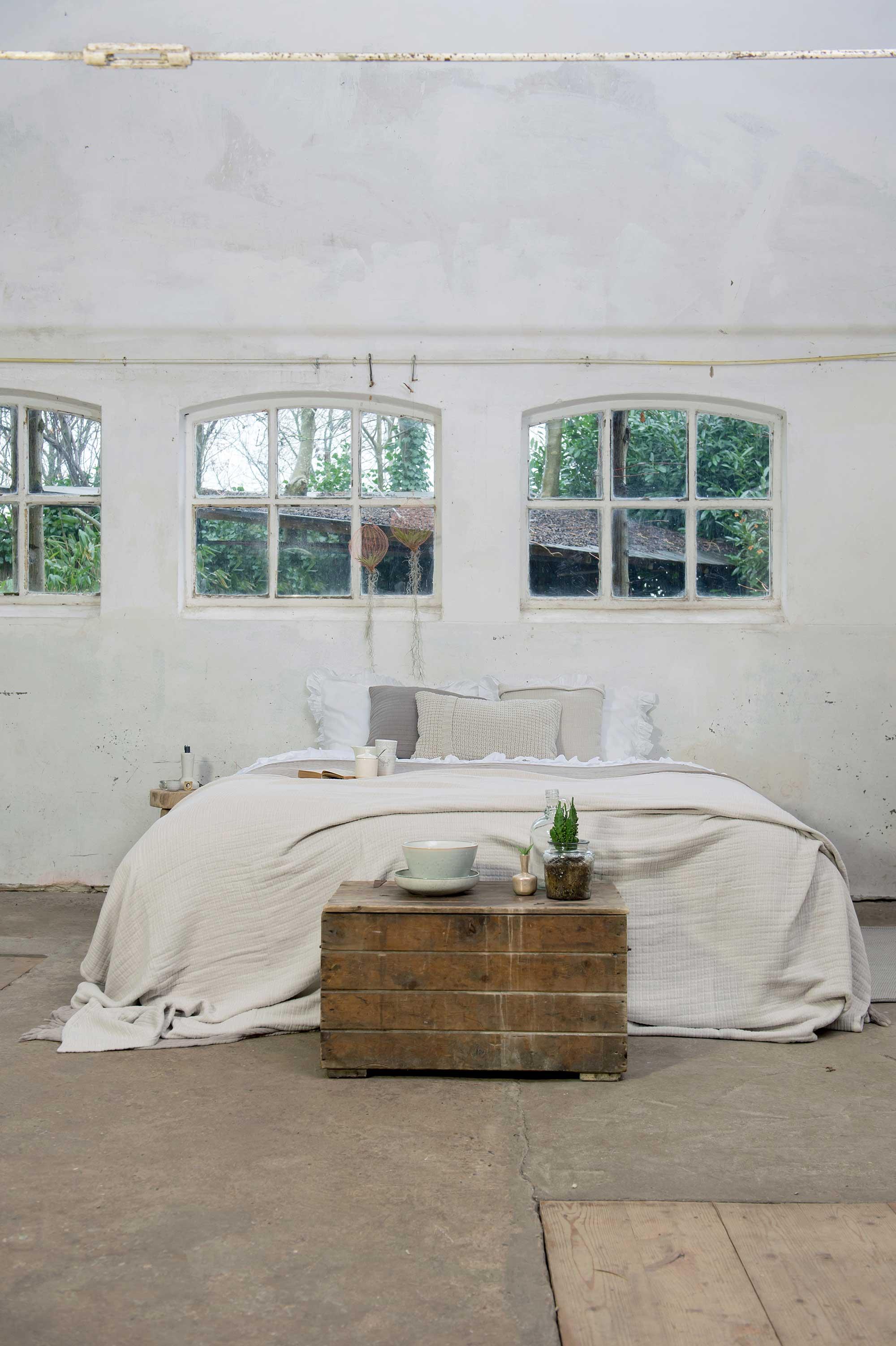naturel bedtextiel