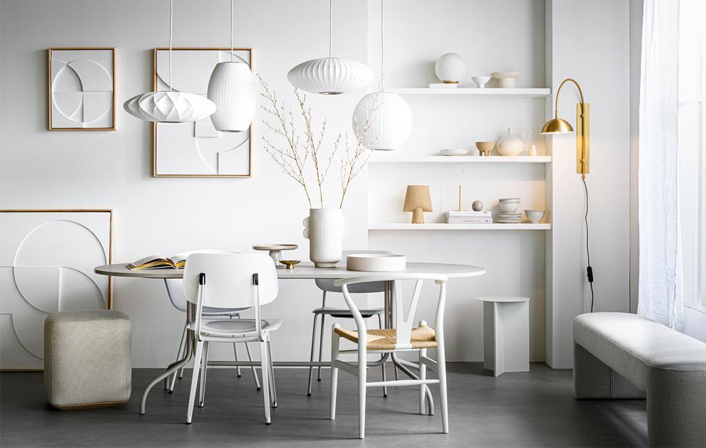 Hanglampen boven de eettafel | Styling | vtwonen 13-2020