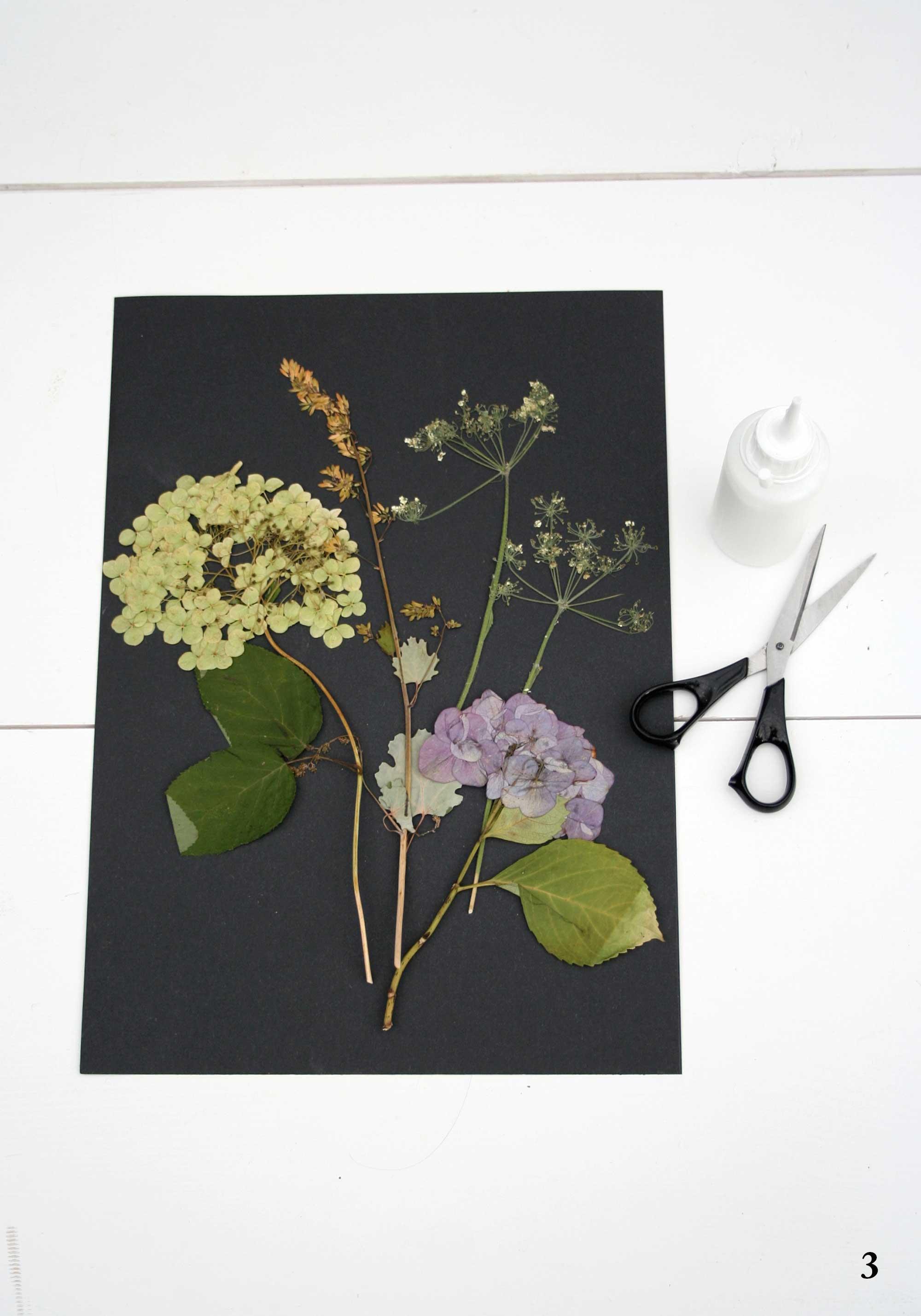 bloemenschilderij maken