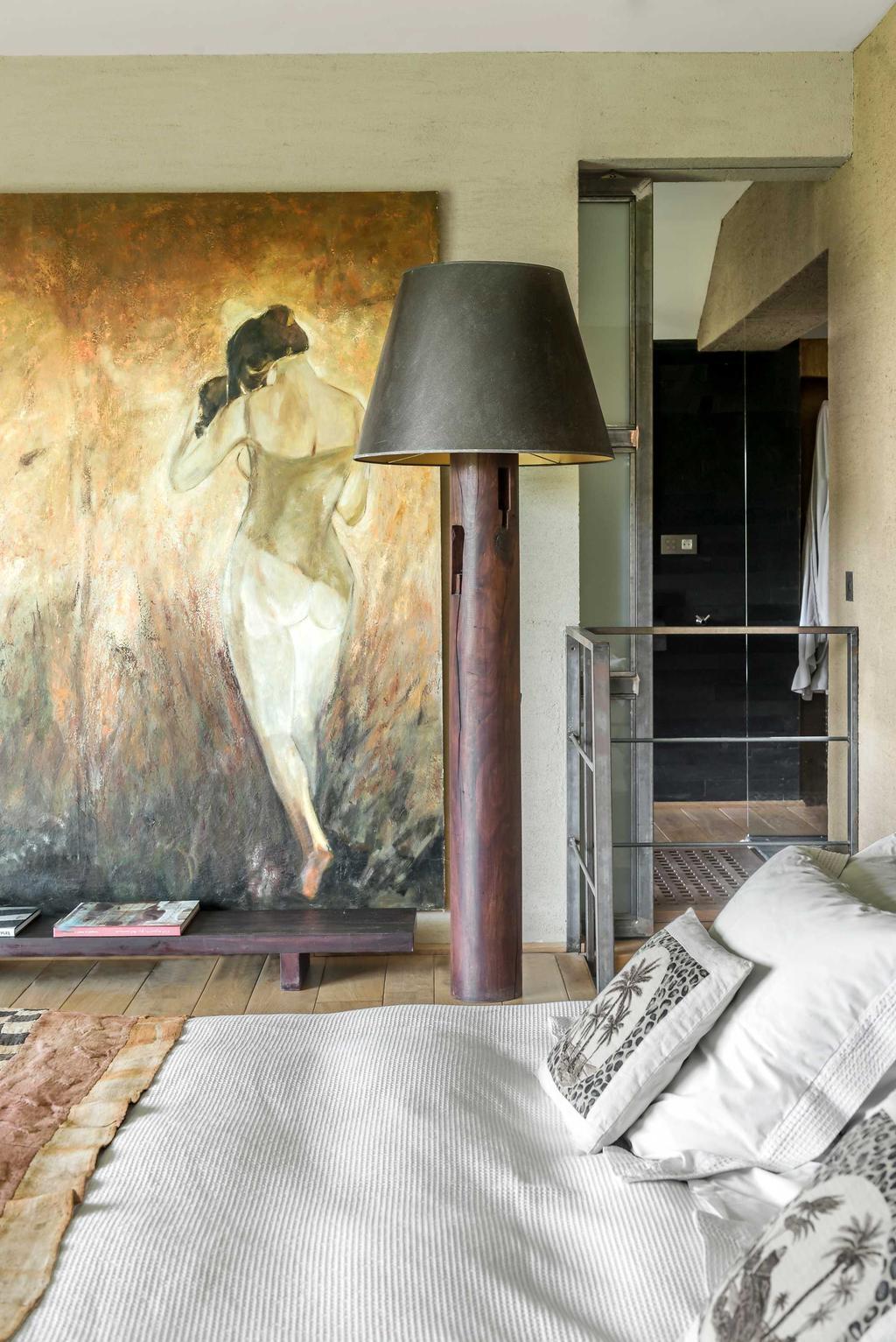 slaapkamer schilderij hoeve