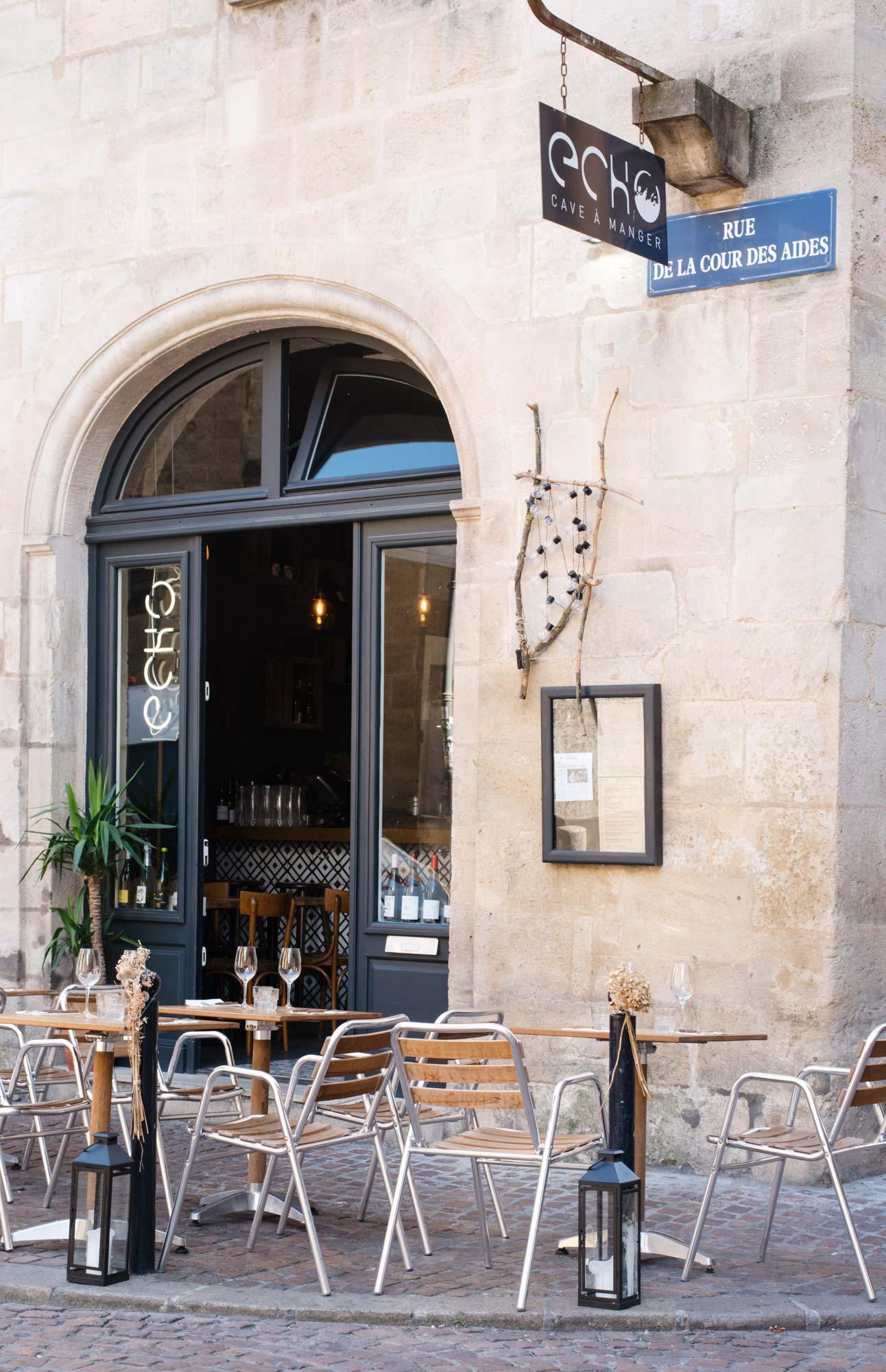 Restaurant Echo in Bordeaux