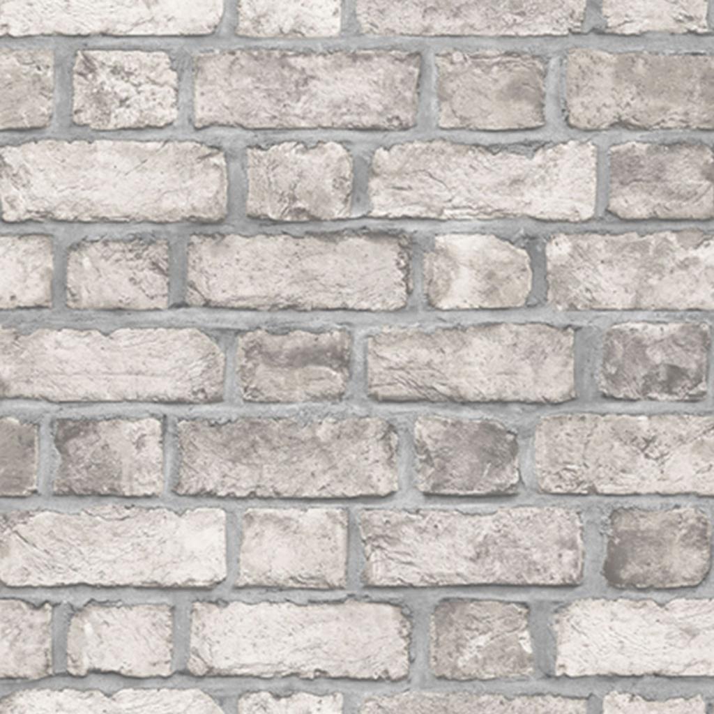 Papierbehang stenen muur