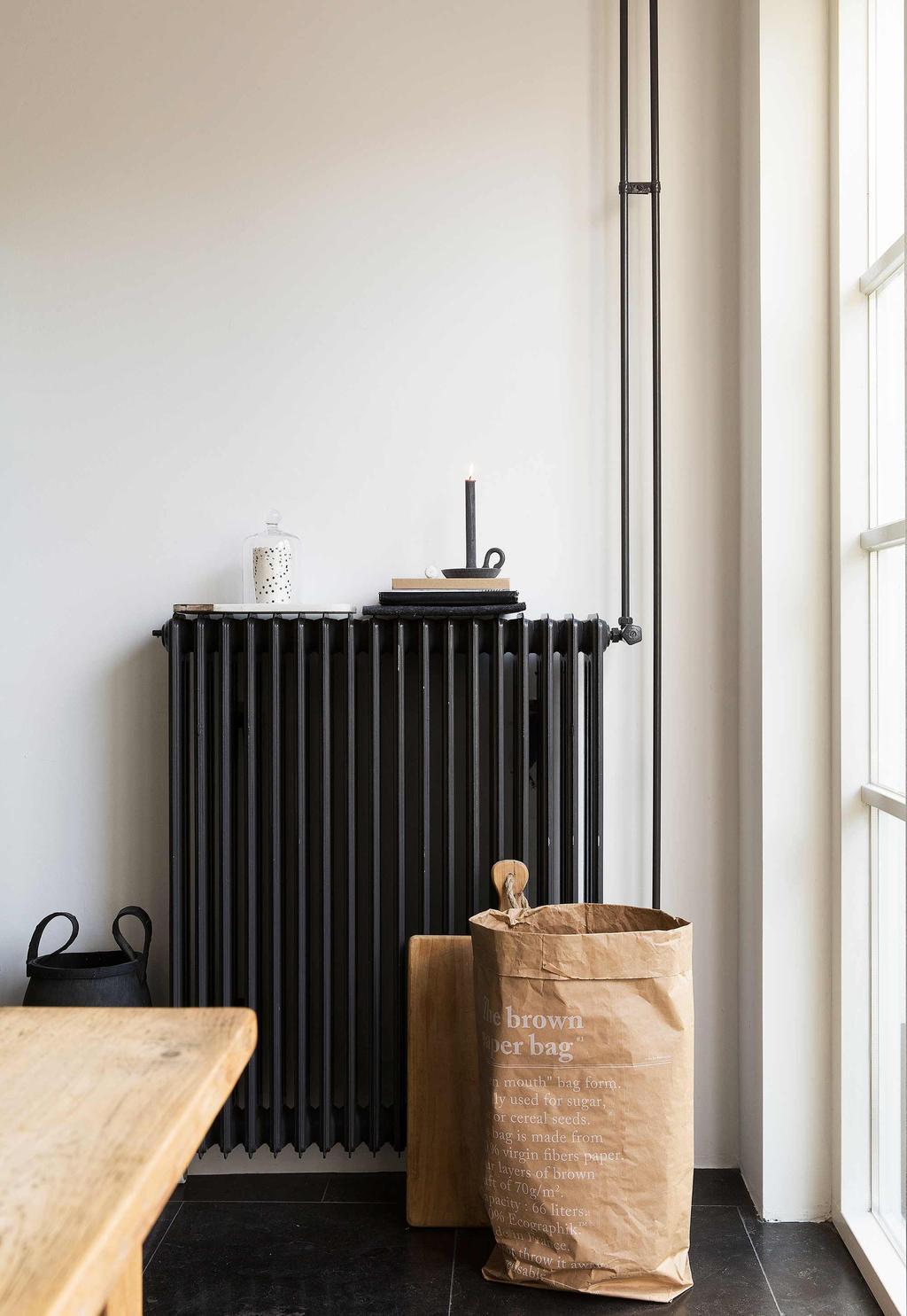 zwarte radiator