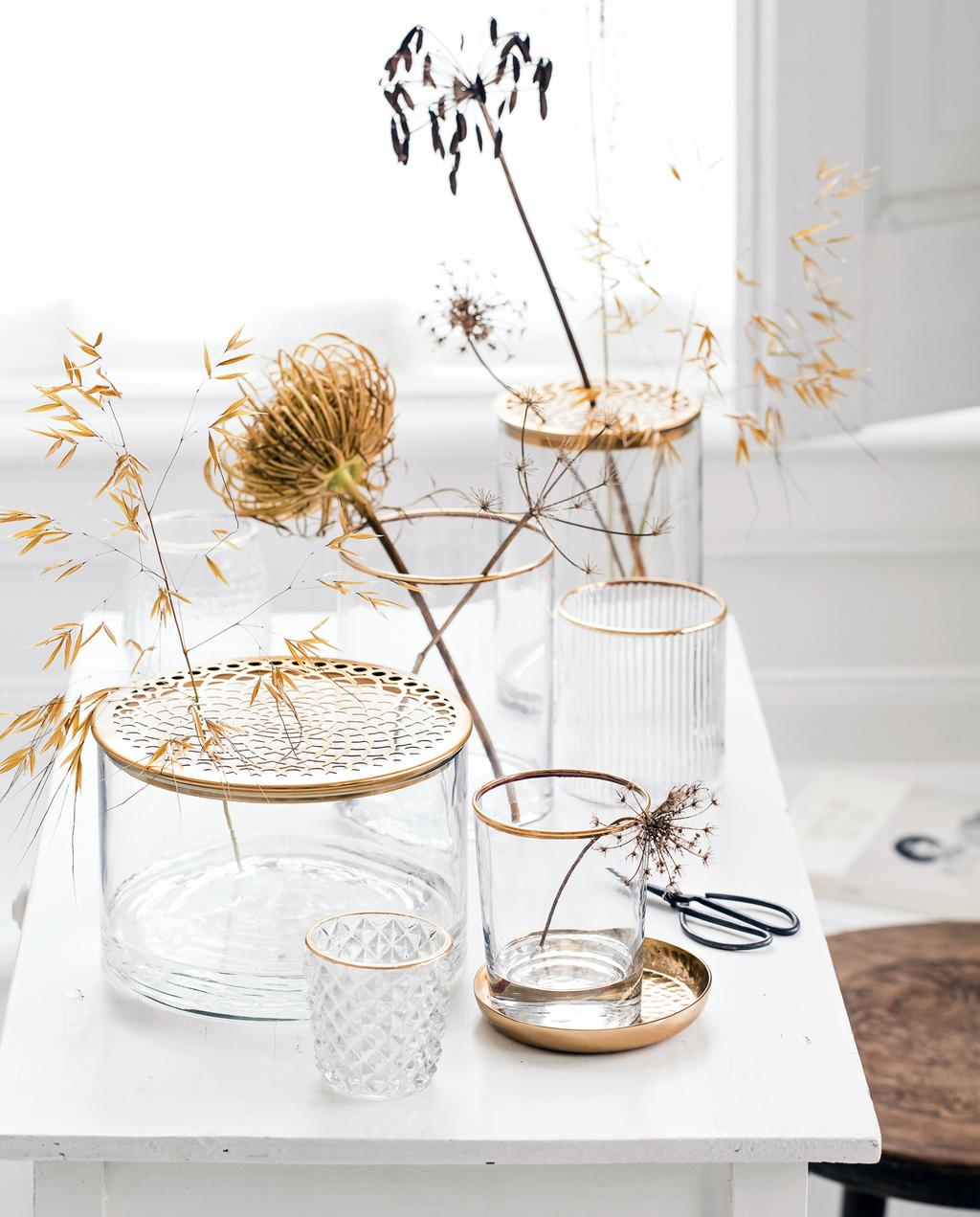 vtwonen 2-2020 | glazen vazen en potten