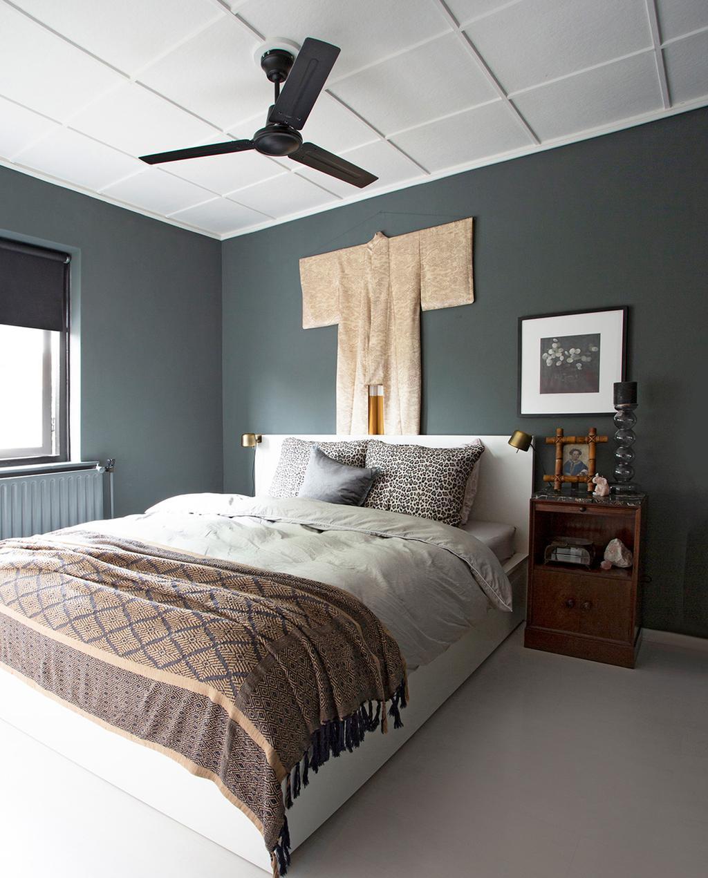 vtwonen 06-2021 | slaapkamer met opgemaakt bed I 2-onder-1-kap