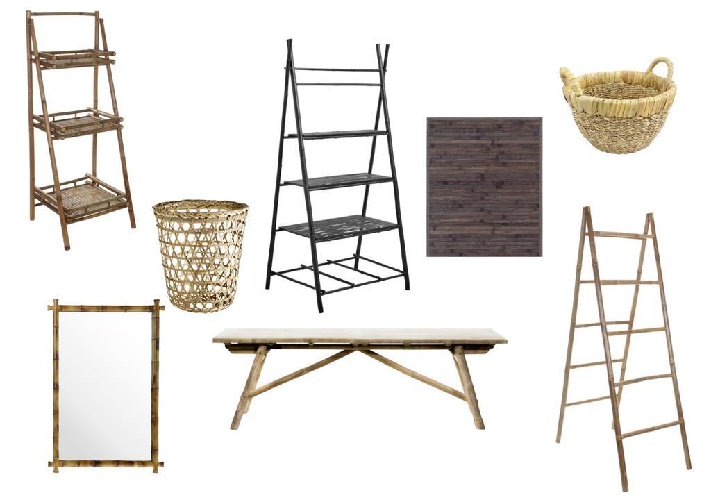 collage bamboe badkamer
