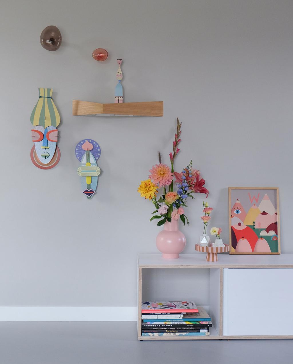 vtwonen | Blog PRCHTG Boobies decoratie met een bos bloemen