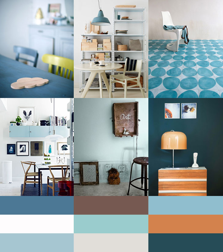 Kleurtrend Permanent Blue