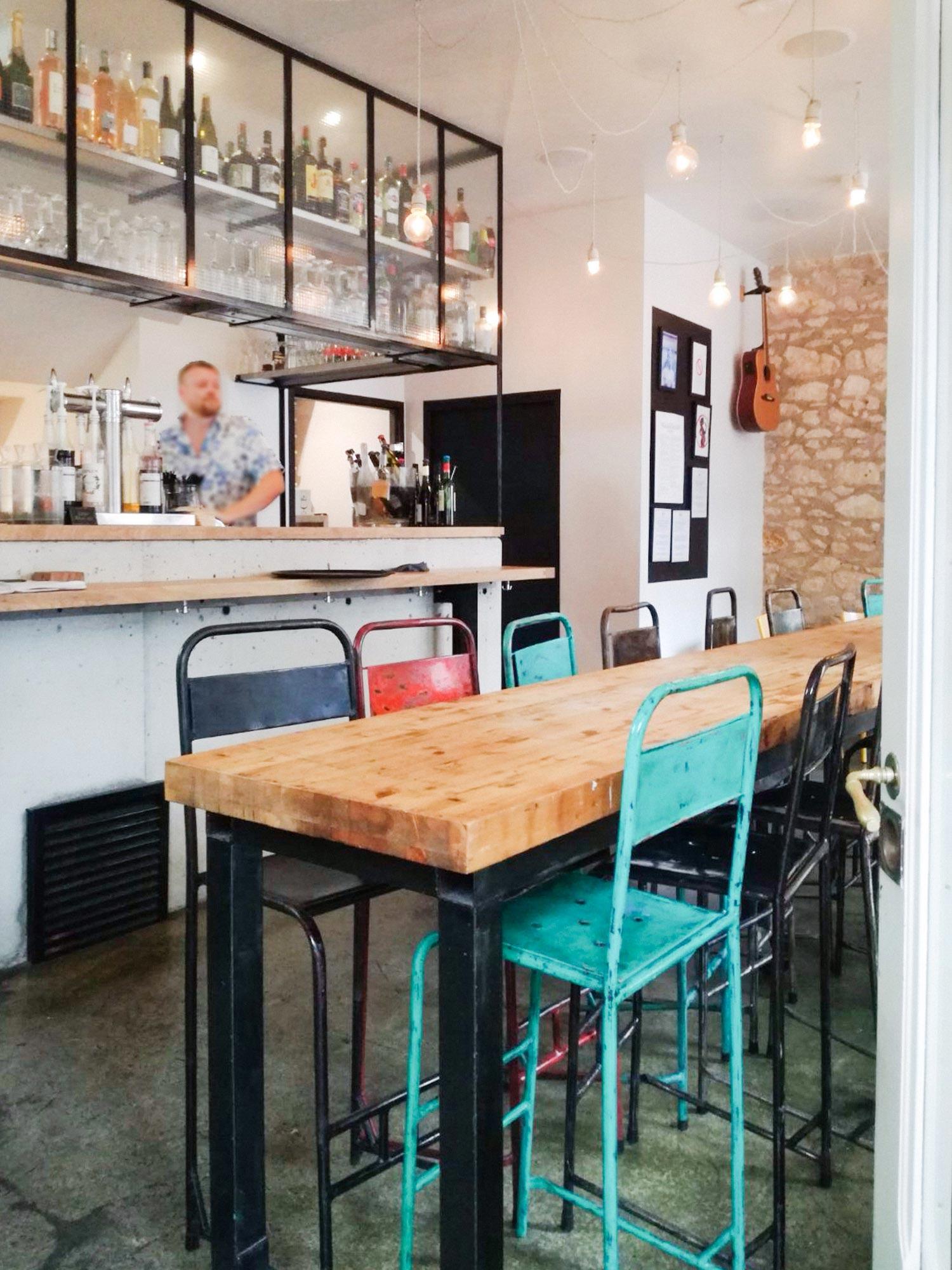 Bar in de Dordogne