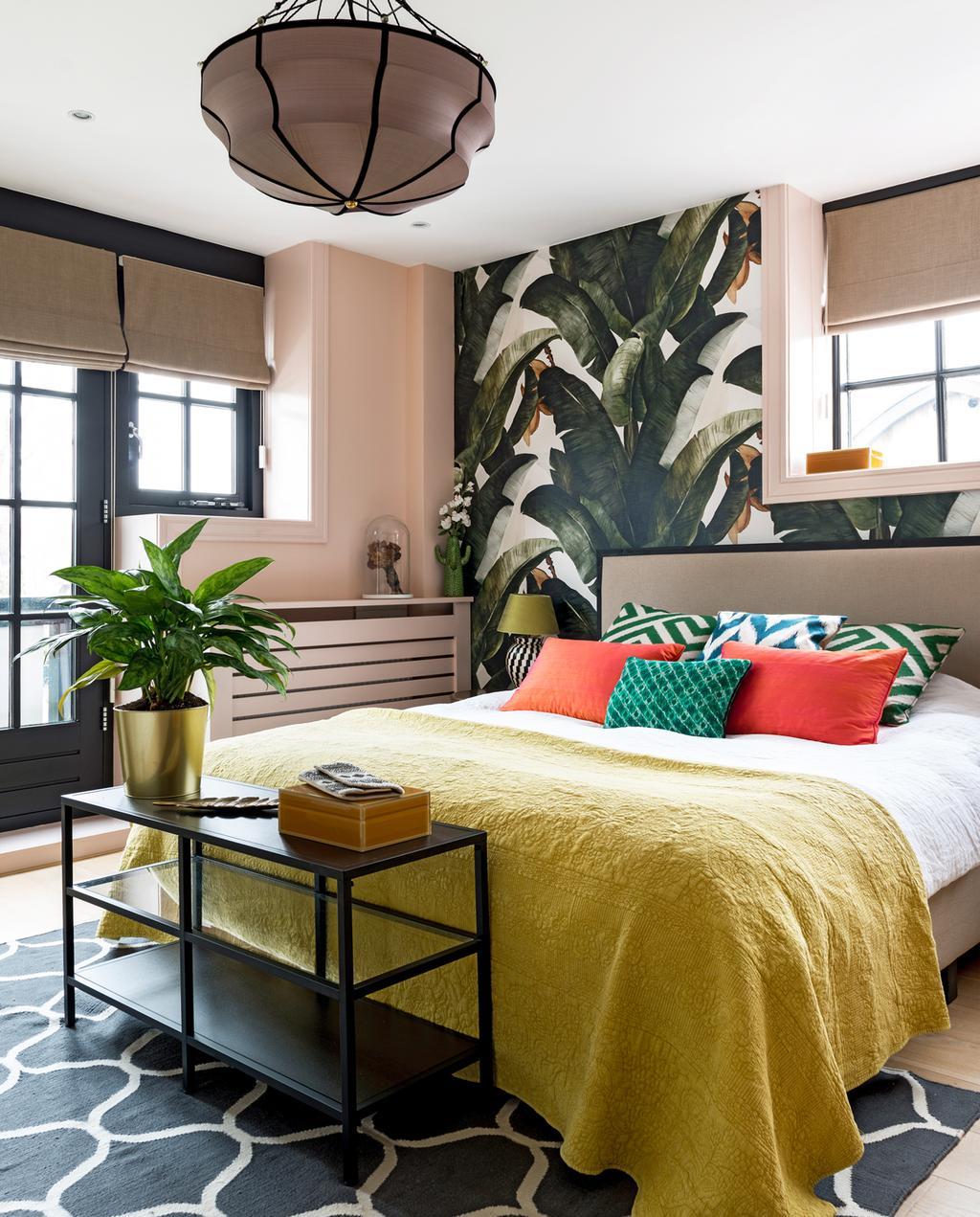 vtwonen binnenkijken special 2019 | binnenkijken in jaren twintig huis in Wassenaar slaapkamer