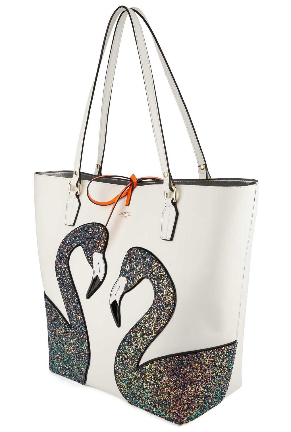 Shopper flamingo essentiel