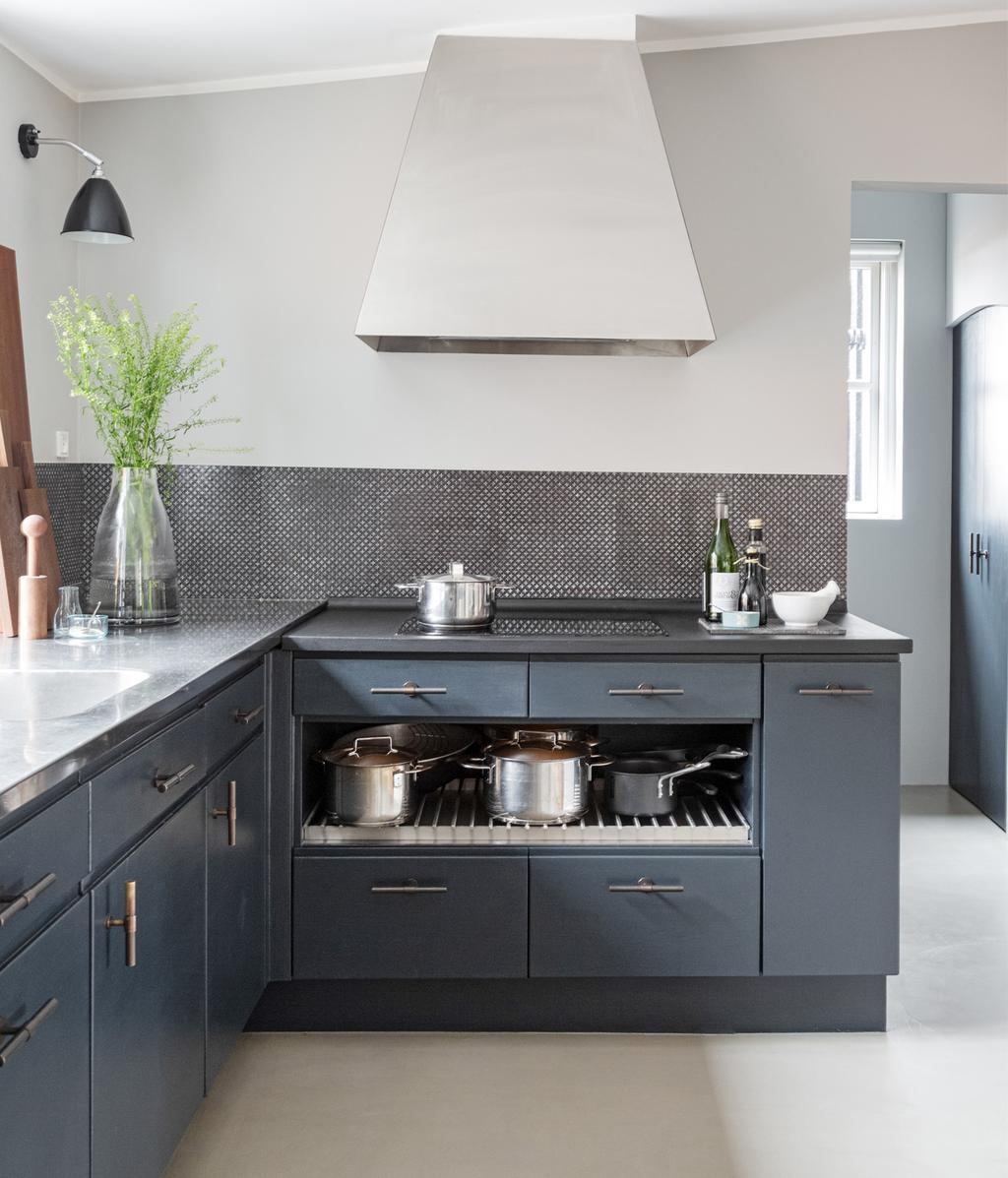 Blauwe keuken | vtwonen 13-2020