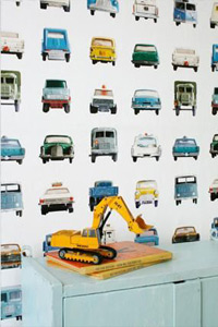 Autobehang Studio Ditte (detailafbeelding)