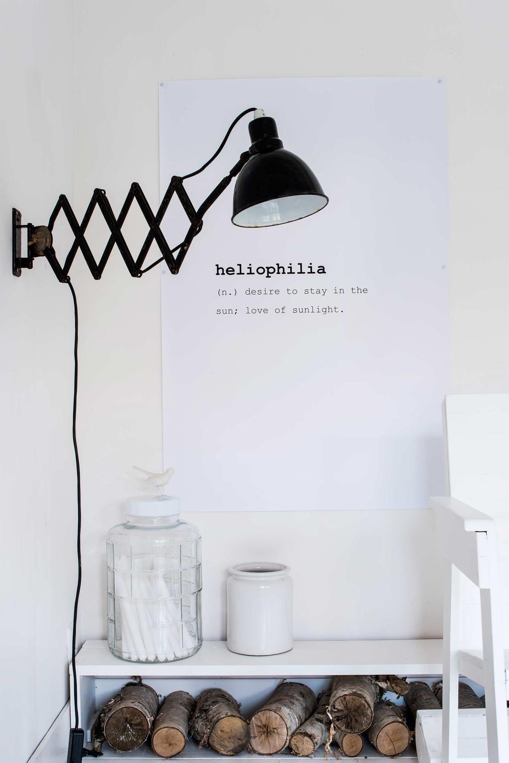zwarte wandlamp