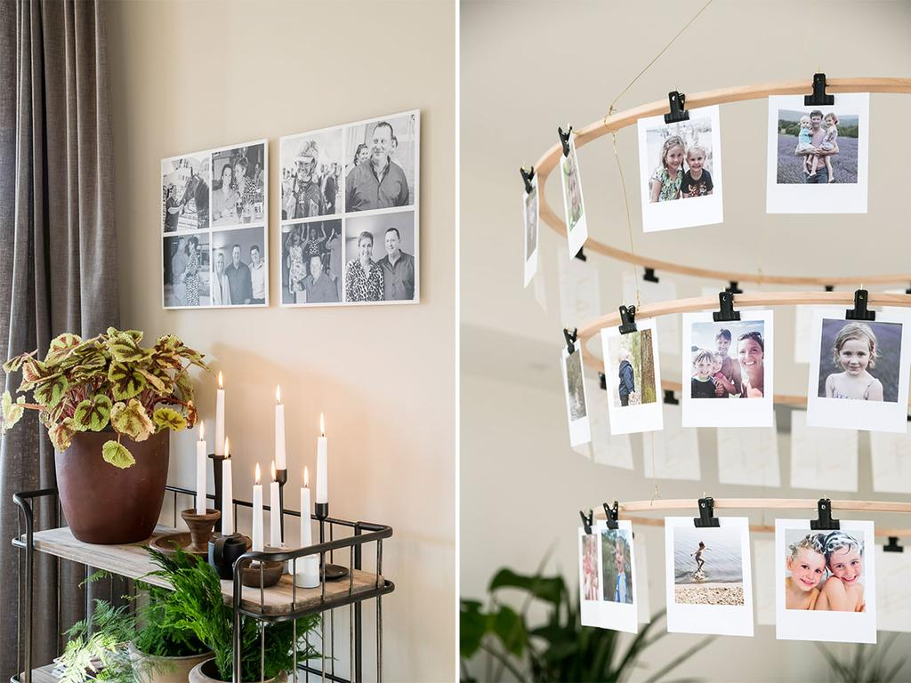 Creative foto-oplossingen van albelli in het tweede seizoen van 'Een frisse start met vtwonen'.