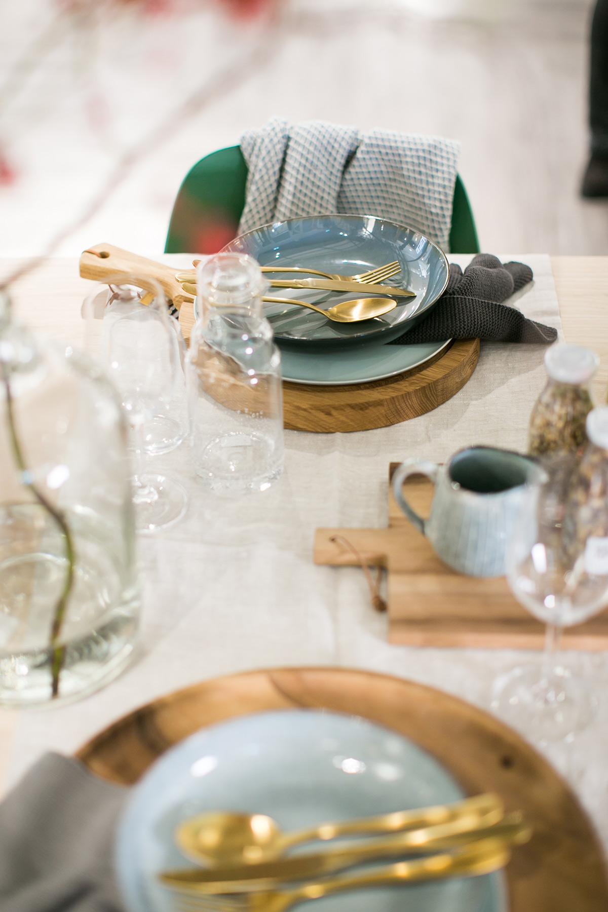 Styling tafel Hudsons Bay