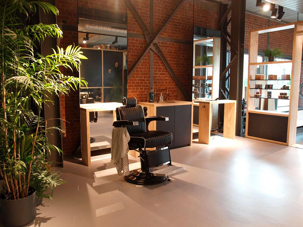 Gents barbershop stoel