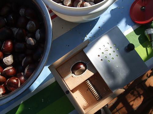 Chestnut garland