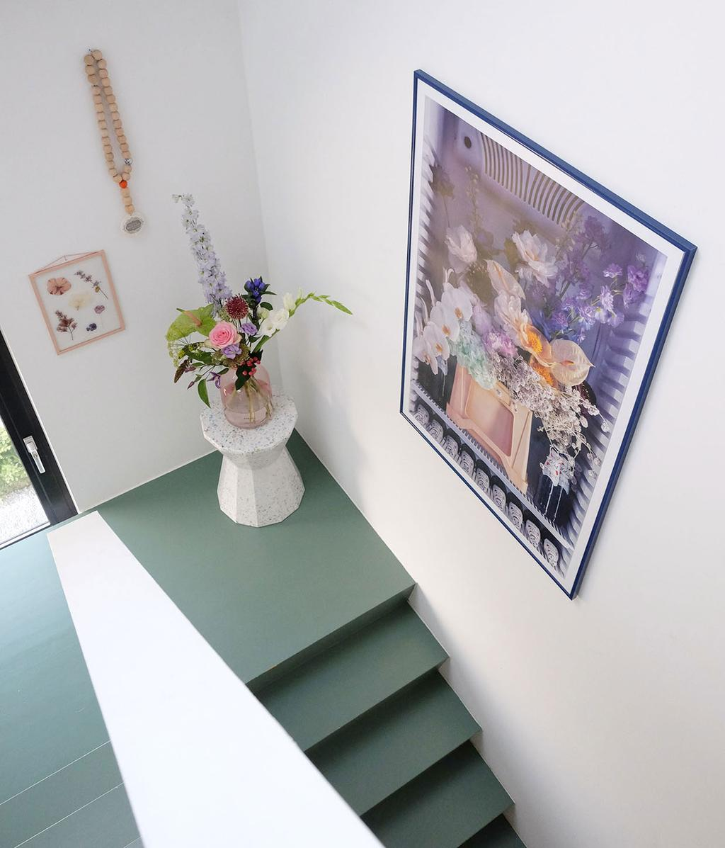 vtwonen blog prchtg | art wall paarse print