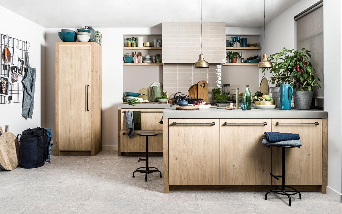 houten vtwonen keuken
