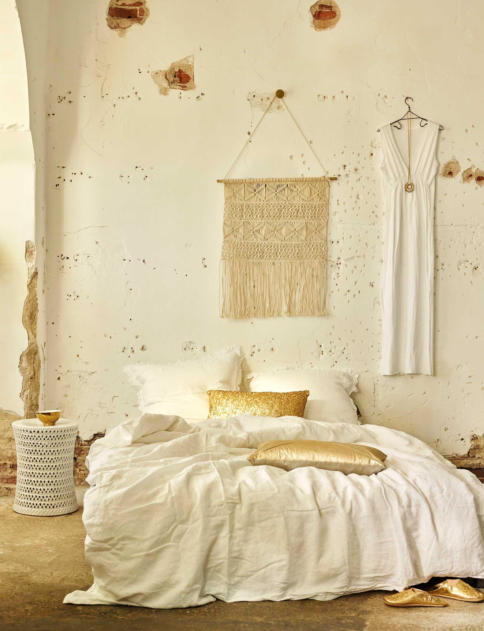 bohemien slaapkamer