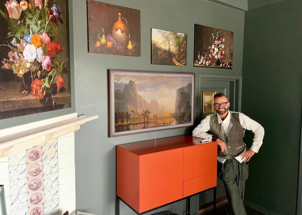 Frans en The Frame Noordeloos