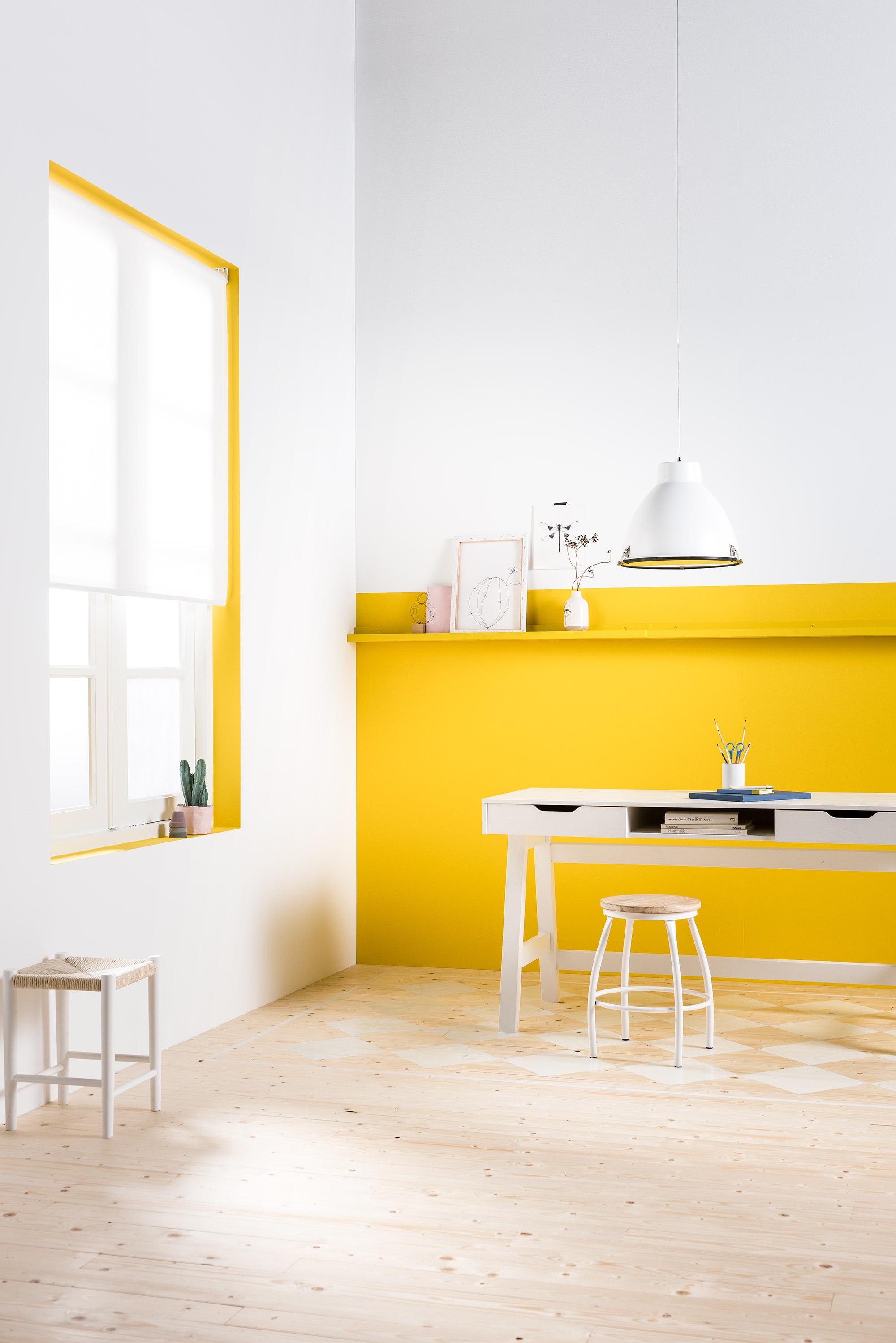 karwei geel interieur