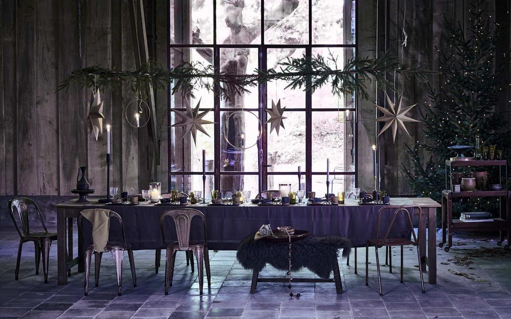 Kerst eettafel | winter lodge