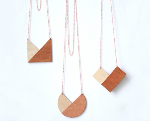 houten kettingen Snug Studio